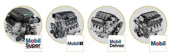 Моторное масло Mobil