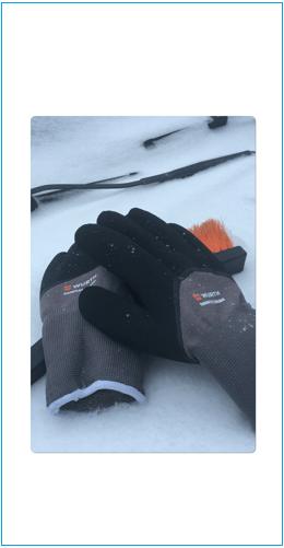 Теплые перчатки Вюрт