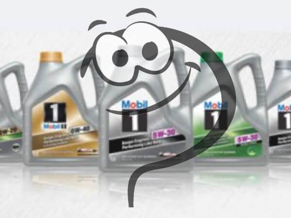 Какое масло Mobil залито в двигатель Вашего автомобиля?