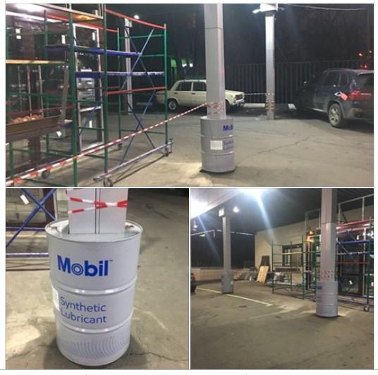 Реставрация вестибюля Мобил 1 Центра