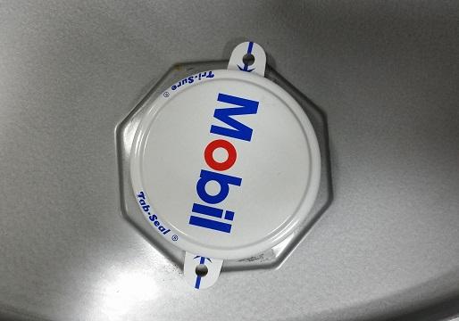 Защитная пломба крышки масла Mobil