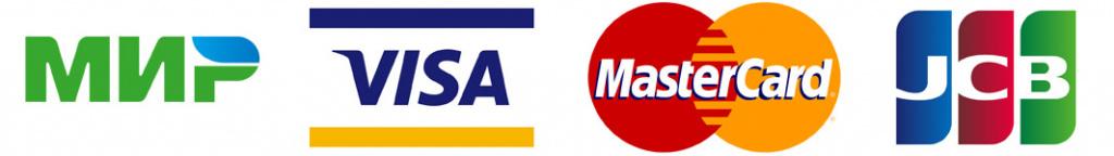 оплата картиами мир visa master card jcb