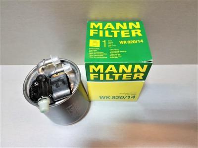 Топливный фильтр MANN WK820/14 A6420906052