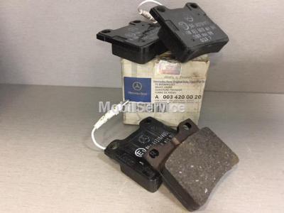 Колодки тормозные дисковые задние A0034200020