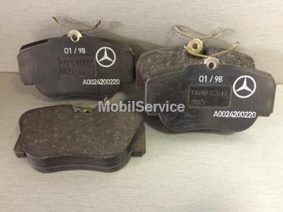 Колодки тормозные дисковые передние A0024200220