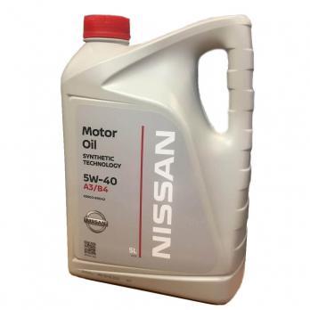 Моторное масло NISSAN 5W-40 5л KE900-90042 KE90090042R