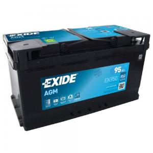 Аккумулятор EXIDE EK950 MICRO-HYBRID AGM 12V 95Ah 850A 353x175x190 /-+/
