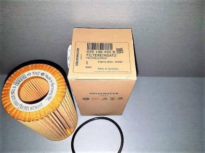Фильтр масляный VAG 059198405B AUDI SKODA