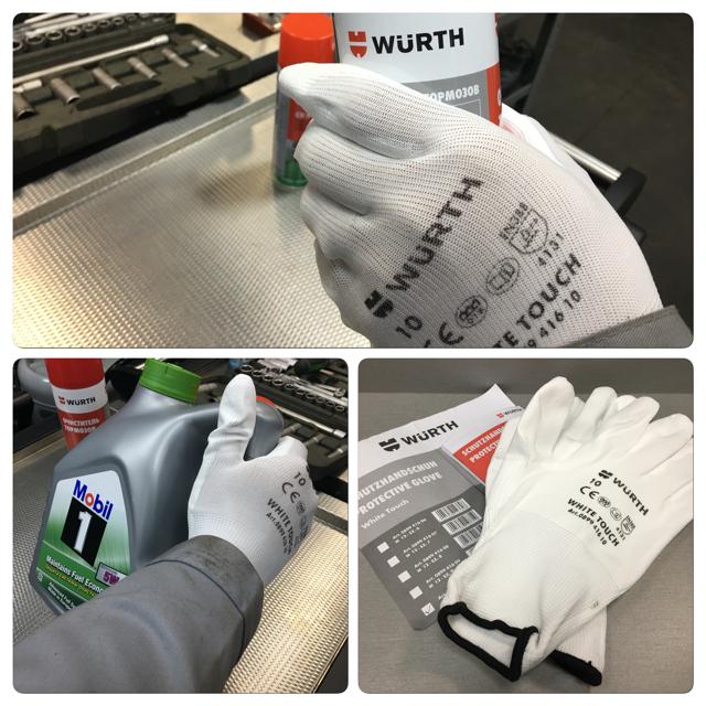 Перчатки сборщика - Печатки сборщика WURTH
