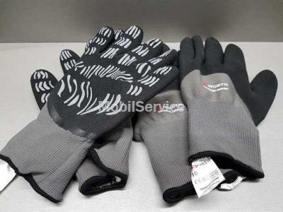 Перчатки утепленные рабочие WURTH WNTR TIGERFLEX THERMO 0899404030 P-10