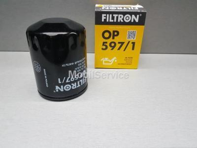 Фильтр масляный FILTRON OP597/1 MAZDA SHY1-14-302