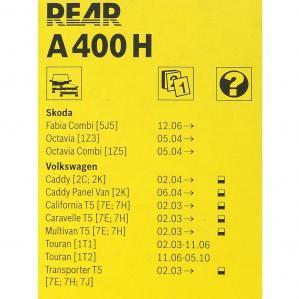 Купить задний стеклоочиститель A400H