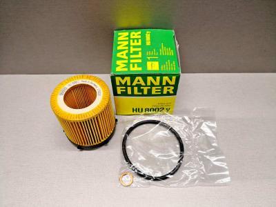 Фильтр масляный MANN HU8002y BMW 11427634292