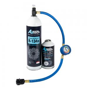 Набор для заправки кондиционера автомобиля AU-883/888/410