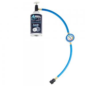 Комплект для заправки кондиционера с герметиком AU-888/410