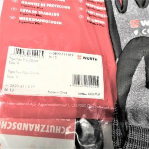 Перчатки WURTH Tigerflex Plus 0899411019