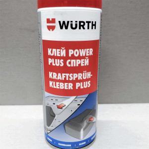 Аэрозольный клей Power Plus WURTH 400мл 0890100064