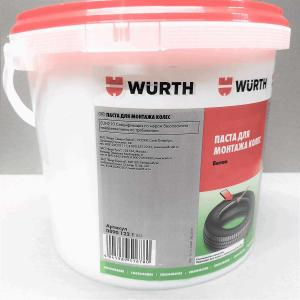 Паста для монтажа колес WURTH 5кг 08901221 белая