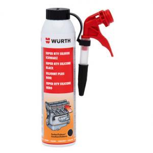 Высокотемпературный силикон Super RTV Plus WURTH 08933311 200мл