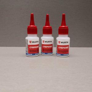 Standart WURTH 20г 08931.Для склеивания деталей из металла, пластмассы и резины в любой комбинации.