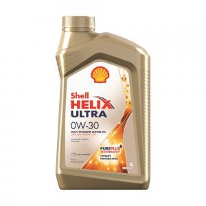 Моторное масло SHELL Helix Ultra 0W-30 1л 550046354550046354
