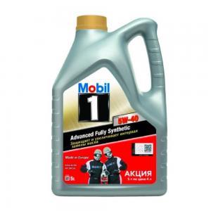 MOBIL 1 FS X1 5W-40 АКЦИЯ 5 литров по цене 4
