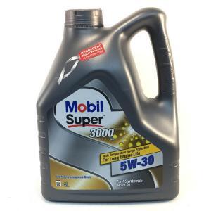 Моторное малозольное масло Mobil Super 3000 XE 5W-30 4л