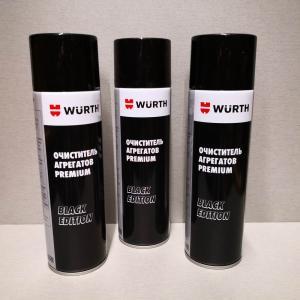 Очиститель тормозов и агрегатов PREMIUM Black Edition WURTH Break Parts Cleaner 500мл. 5988000355
