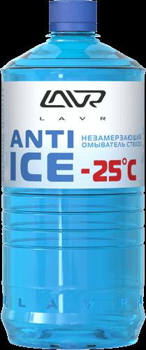 Незамерзающий очиститель стекол -25°C 1л LAVR LN1310