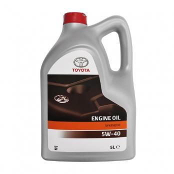 Оригинальное моторное масло TOYOTA SAE 5W-40