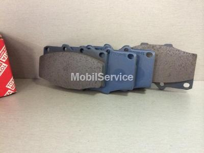 Колодки тормозные дисковые передние 04465-60060