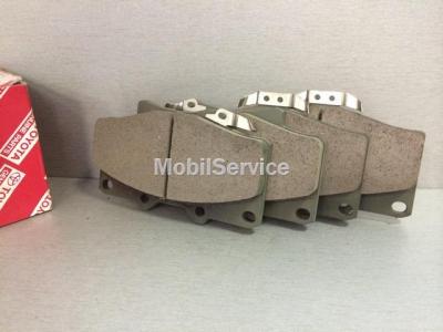 Колодки тормозные дисковые передние 04465-35140