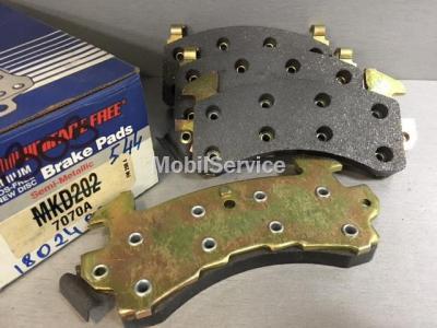 Колодки тормозные дисковые передние MKD202