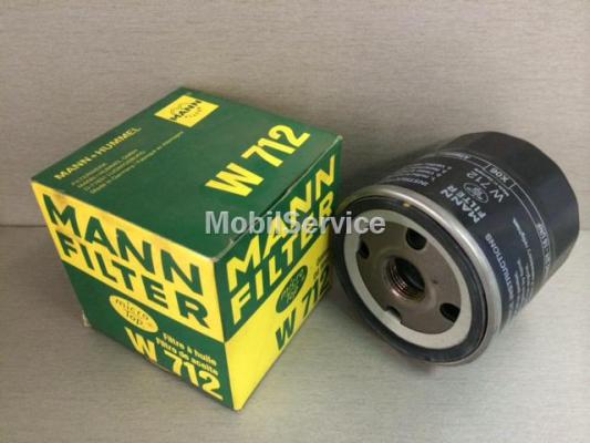 Фильтр масляный W712