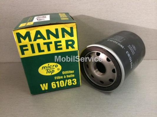 Фильтр масляный W610/83  MANN