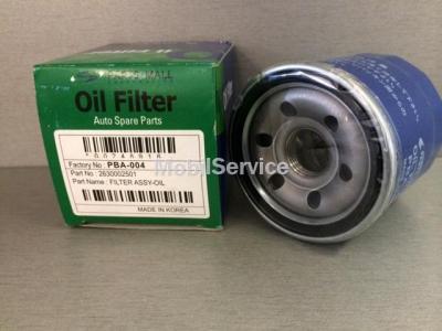 Фильтр масляный PBA-004