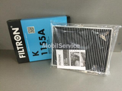 Фильтр салоннный угольный K1155A (7H0819631A=95557221910)