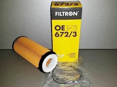 Фильтр масляный FILTRON OE672/3 BMW 11427808443