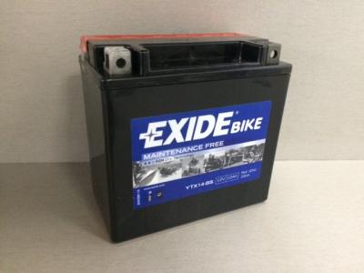 Аккумулятор EXIDE YTX14-BS 12В 12А/ч A2115410001