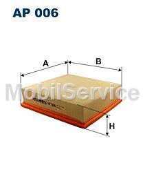Фильтр воздушный FILTRON AP006 AUDI/VW 021129620