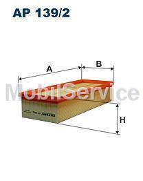 Фильтр воздушный FILTRON AP139/2 AUDI/VW 1K0129620G