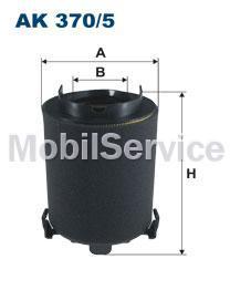 Фильтр воздушный FILTRON AK370/5 AUDI/VW 1K0129620C