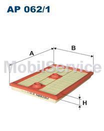 Фильтр воздушный FILTRON AP062/1 AUDI/VW 04E129620