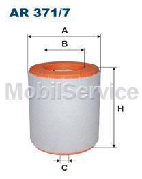 Фильтр воздушный FILTRON AR371/7 AUDI/VW 4G0133843