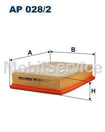 Фильтр воздушный FILTRON AP028/2 BMW 13721744869