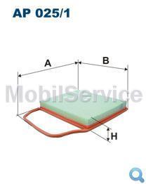 Фильтр воздушный FILTRON AP025/1 BMW 13717556961