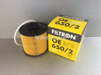 Фильтр масляный FILTRON OE650/2 AUDI/VW 03C115562