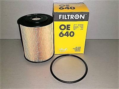 Фильтр масляный FILTRON OE640 AUDI/VW 021115562A