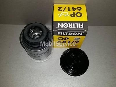 Фильтр масляный FILTRON OP641/2 AUDI/VW 03C115561D
