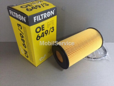 Фильтр масляный FILTRON OE649/3 BMW 11427510717